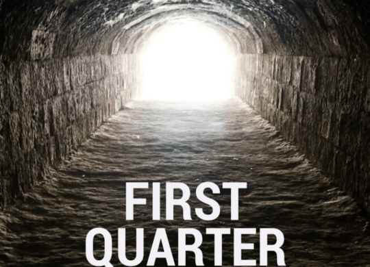 1st Quarter Light First Quarter: Light at the End of the Tunnel! First Quarter: Light at the End of the Tunnel! 1st Quarter Light scalia blog default