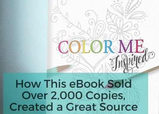 How this eBook Sold of 2,000 Copies
