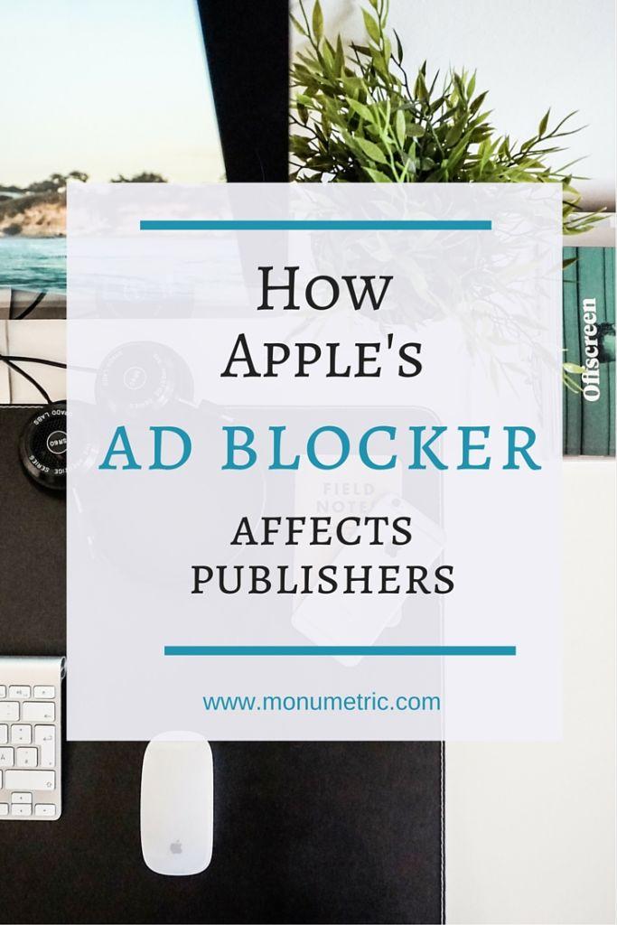 ad blocker affects publishers