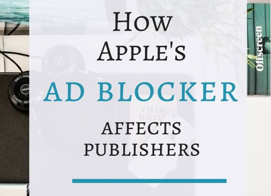ad blocker affects publishers