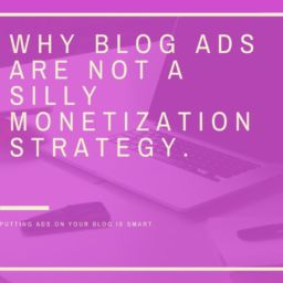 Online Ads Why Online Ads Are NOT a Silly Monetization Strategy Why Online Ads Are NOT a Silly Monetization Strategy blogs not silly monetization strategy 256x256