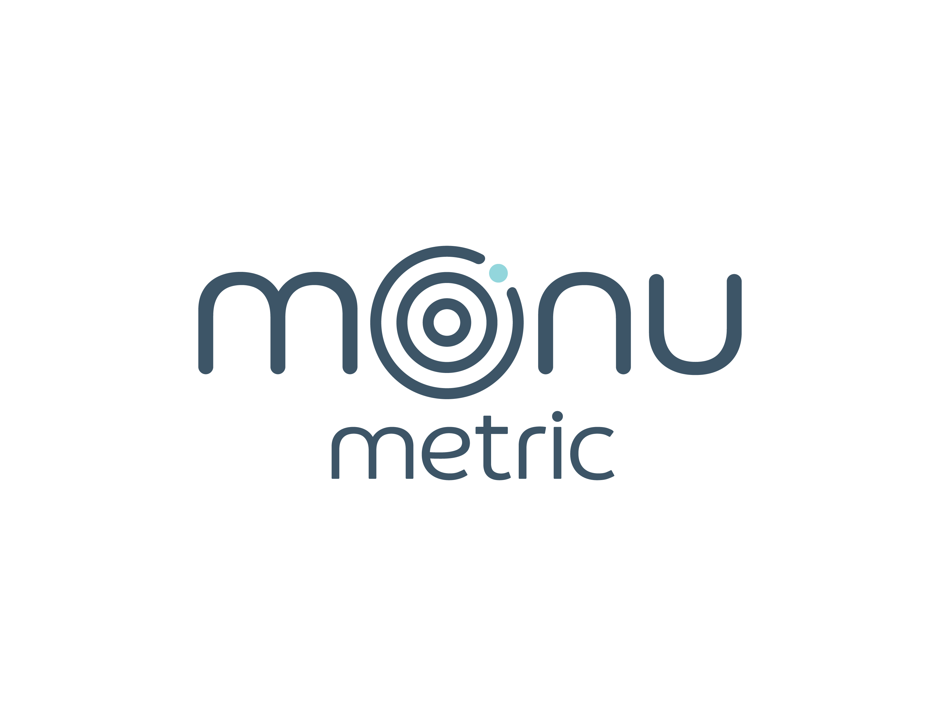 Monumetric Monumetric M MONU STACKED WHITE Slate Grey