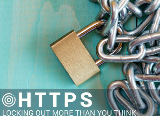 UNLOCK YOUR AD POTENTIAL HTTPS has a minor effect on search rankings compared to th SSL Certificates and Digital Ads Don't Play Nice, Here's Why. UNLOCK YOUR AD POTENTIAL scalia blog default