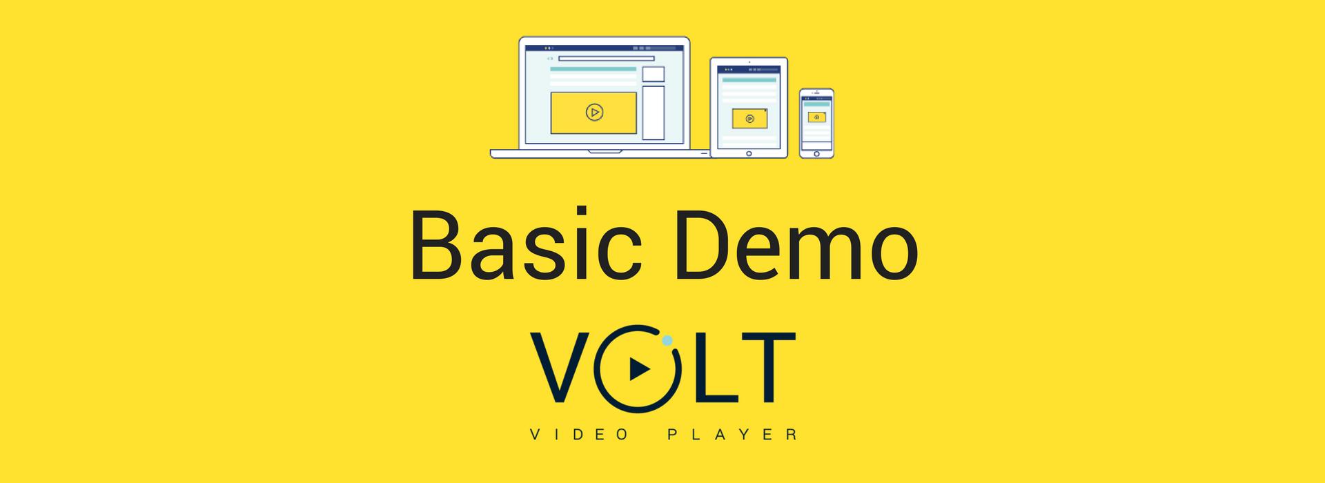 [object object] VOLT Basic Demo Premium Demo 3