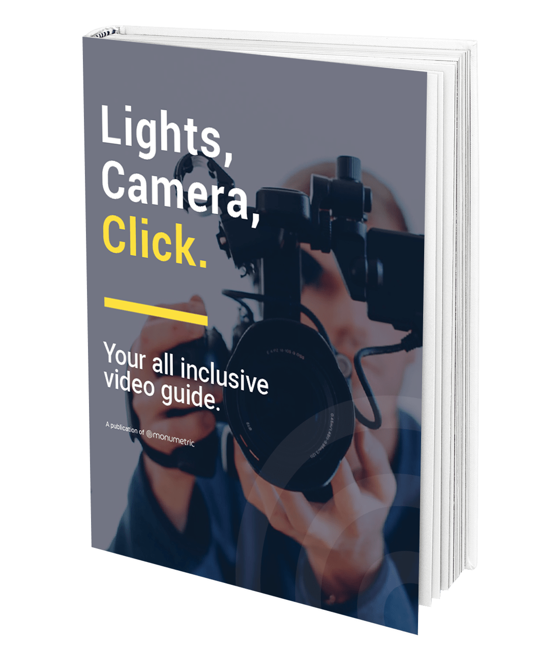 Lights, Camera, Click Growth EBook MockUp 1
